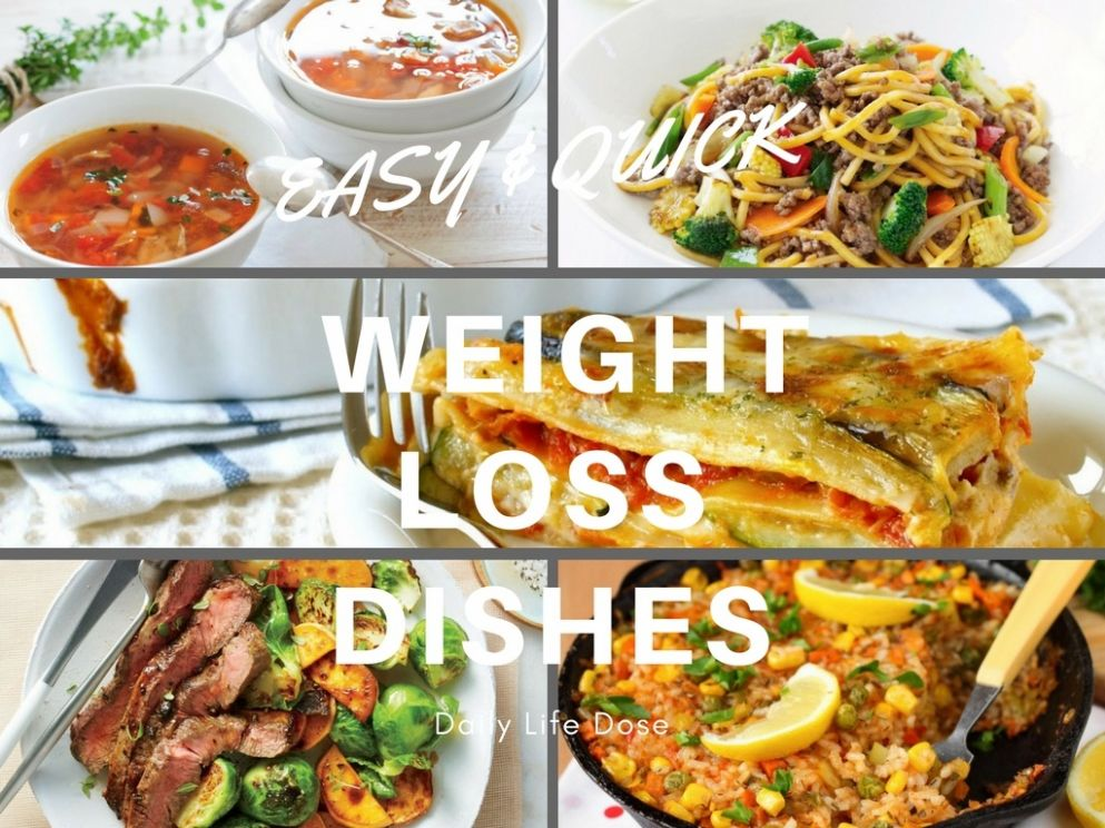 Easy & Quick Weight Loss Dishes – Healthy Food Recipe - Daily Life ..