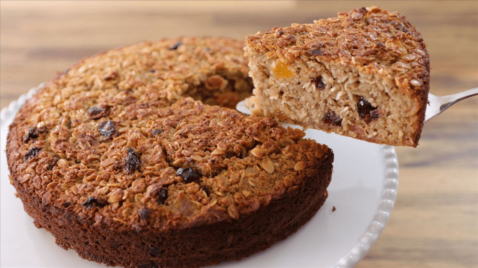 Easy and Healthy Oatmeal Cake Recipe - Healthy Recipes Cakes