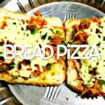 """EASY AND YUMMY BREAD PIZZA HALF JAIN AND VAISHNAV STYLE"" (Using  minimalistic products)"