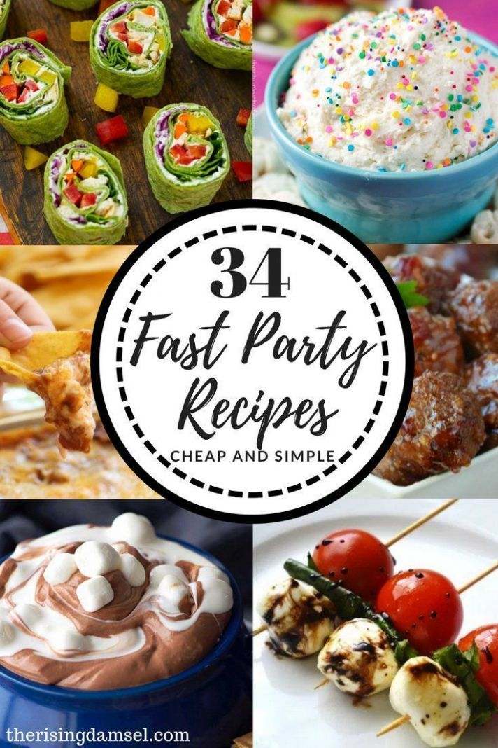 Easy Appetizer Recipes to Impress! 10 Fast Party Pleasing Dishes ..