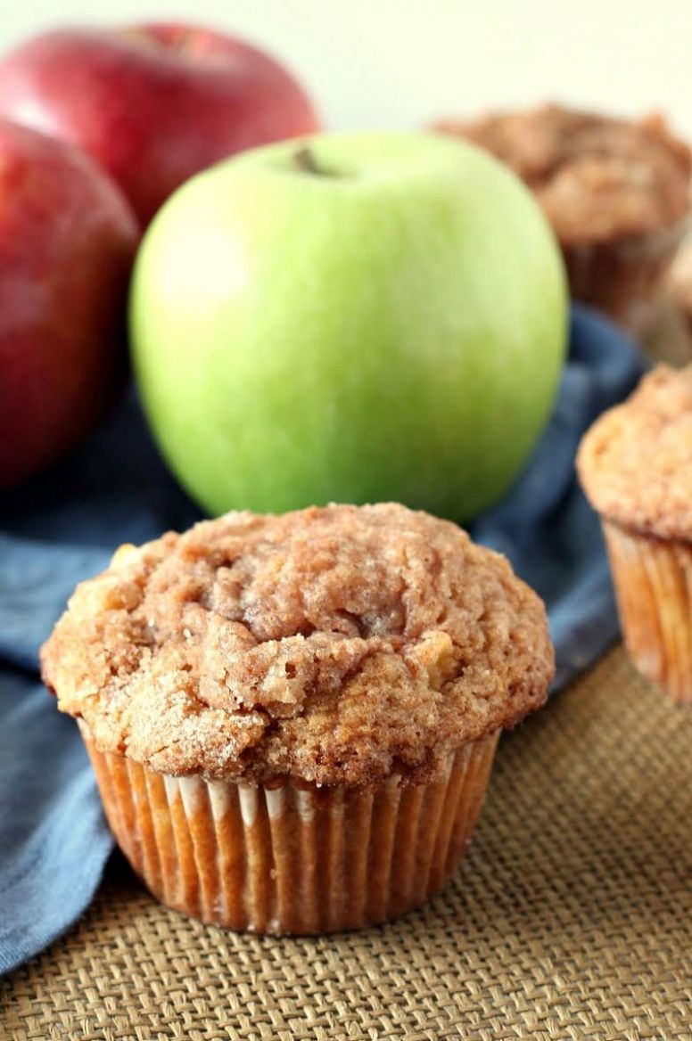 Easy Apple Cinnamon Muffins - Easy Recipes With Apples