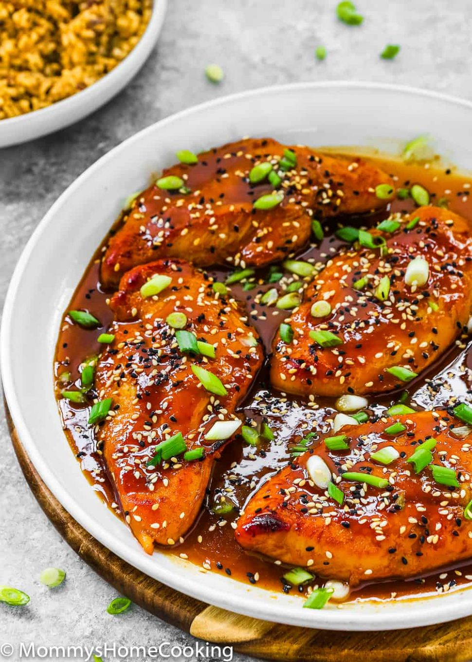 Easy Asian-Style Chicken Breasts - Easy Recipes Asian