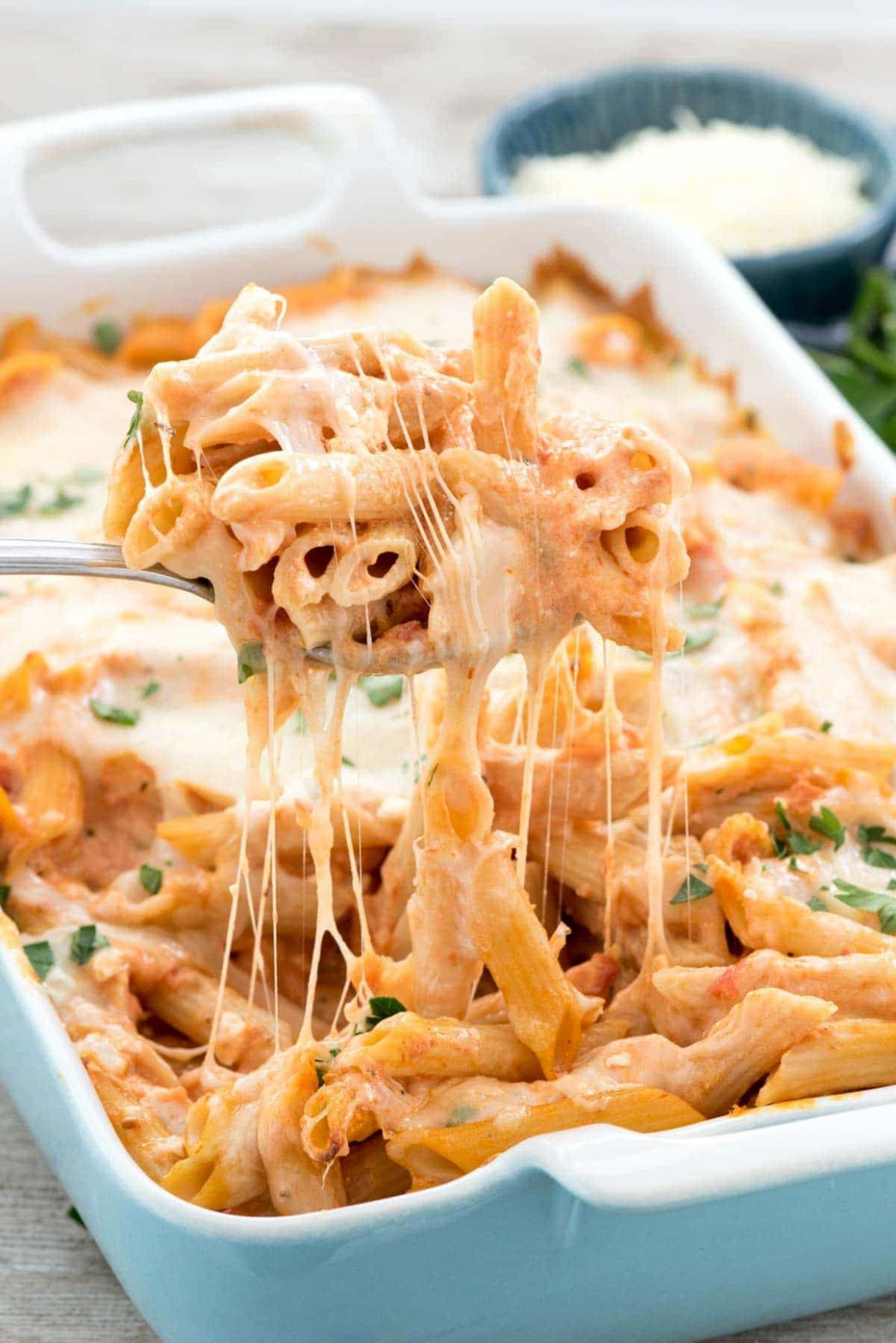 Easy Baked Penne - Recipes Pasta Dishes