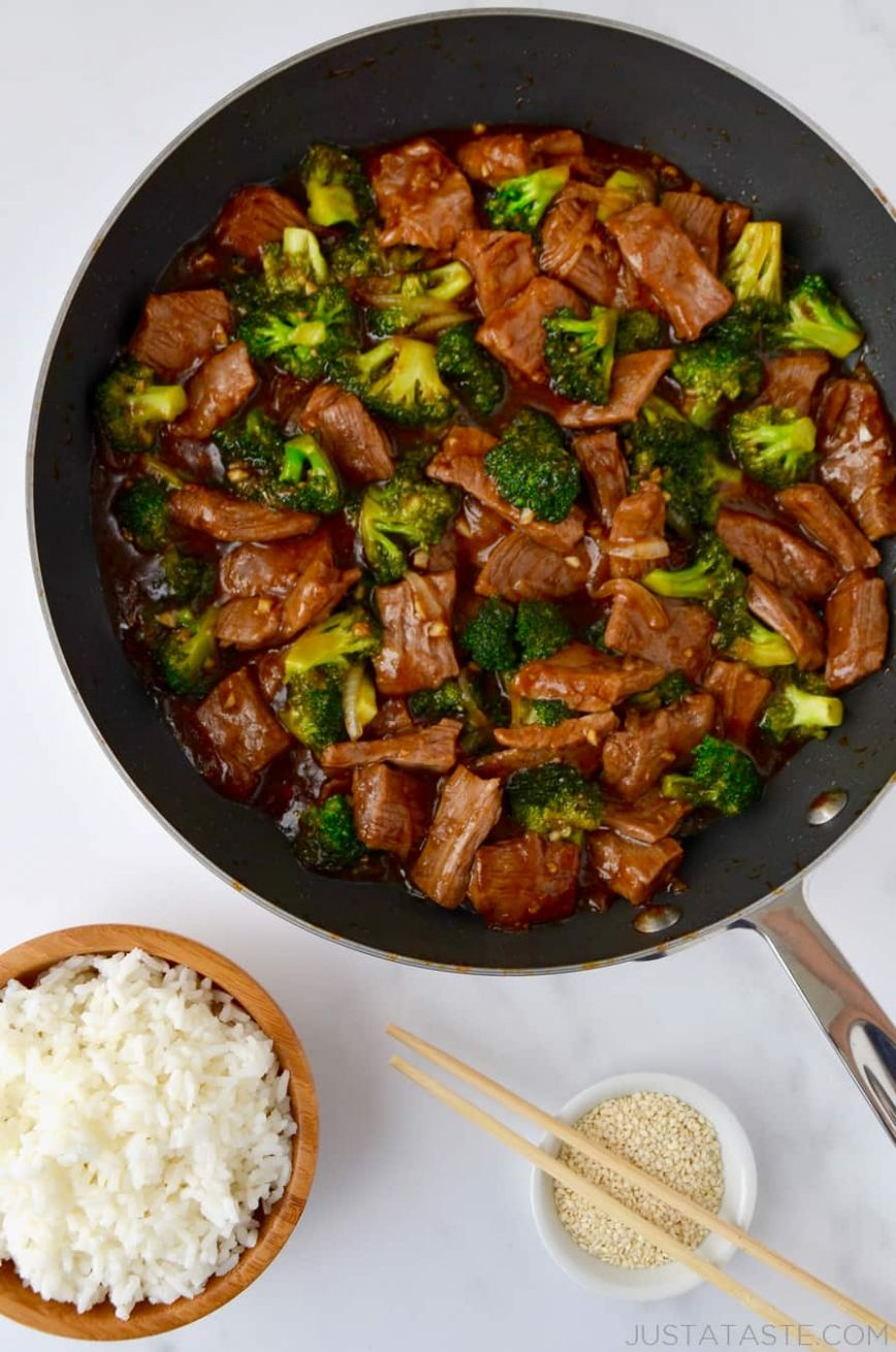Easy Beef and Broccoli - Recipes With Beef Cubes