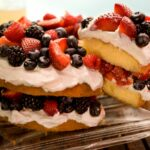 Easy Berry Butter Cake – Recipes Cake With Fruit