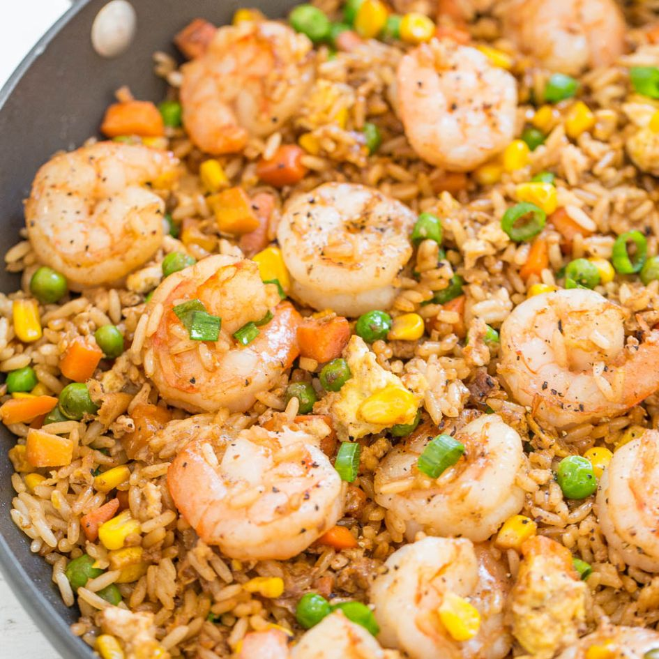 Easy Better-Than-Takeout Shrimp Fried Rice - Recipes Rice With Shrimp