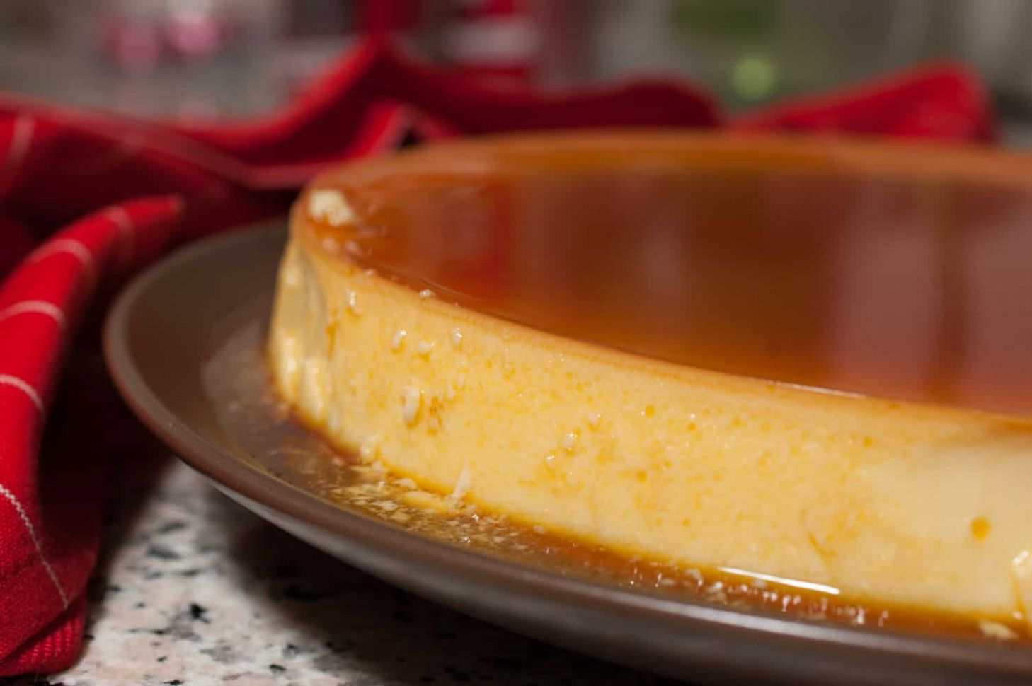 Easy Brazilian Flan with condensed milk - Recipes Dessert Condensed Milk