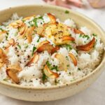 Easy Buttery Garlic Rice – Recipes Rice & Eggplant