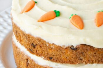 Easy Carrot Cake | Charlotte's Lively Kitchen