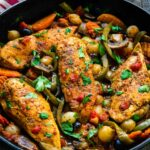 Easy Chicken Cacciatore – Recipes Chicken Breast Skillet