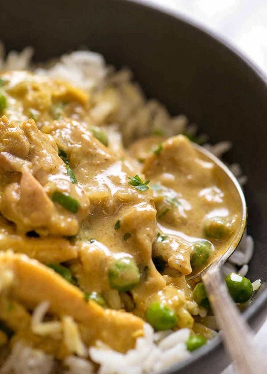 Easy Chicken Curry - Recipes Chicken Curry