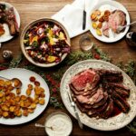 Easy Christmas Dinner Menu With Beef Rib Roast | Epicurious – Beef Recipes For Xmas Dinner