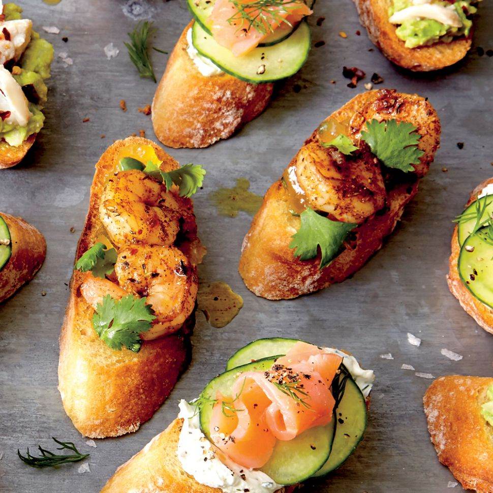 Easy Coastal Summer Appetizers | Coastal Living - Recipes Summer Appetizers