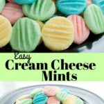 Easy Cream Cheese Mints #nocook #recipes #sweet #dessert #candy ..