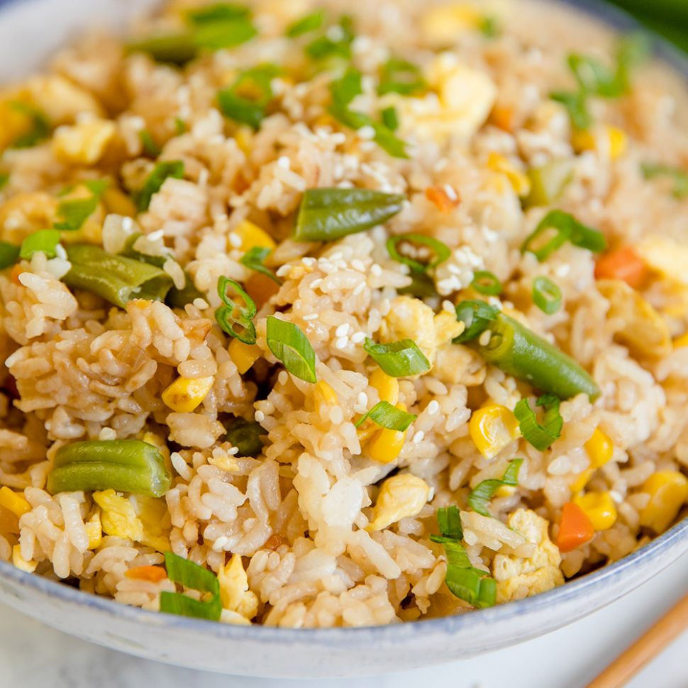 Easy Egg Fried Rice Recipe | YellowBlissRoad