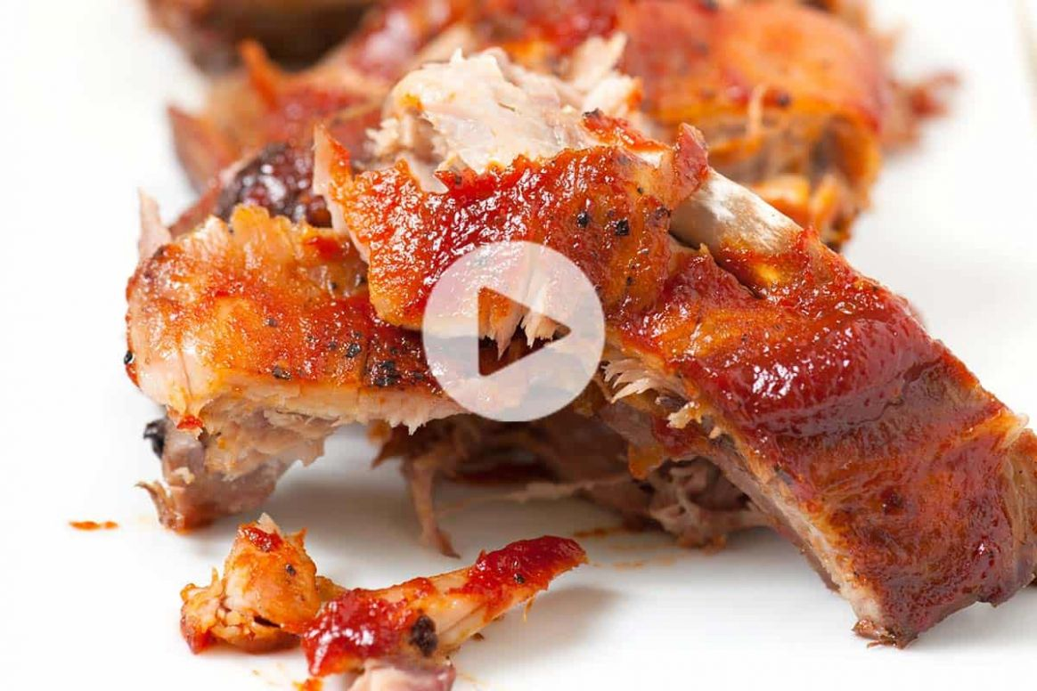 Easy, Fall-Off-The-Bone Oven Baked Ribs Recipe - Recipes Pork Spare Ribs