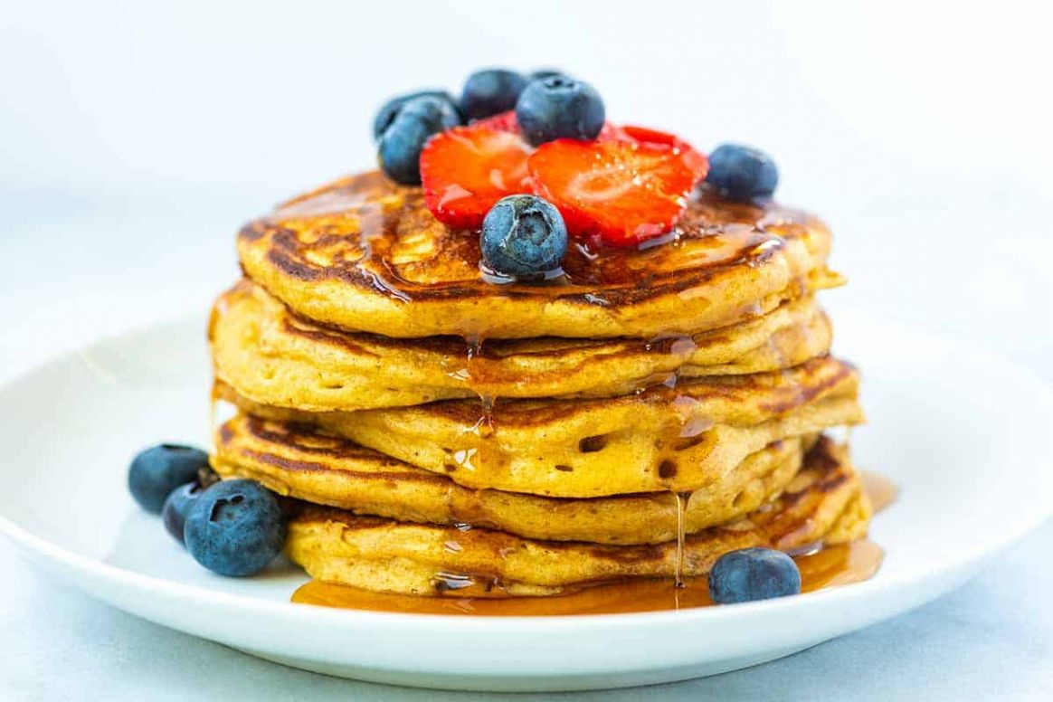 Easy Fluffy Buttermilk Pancakes From Scratch - Easy Recipes Pancakes