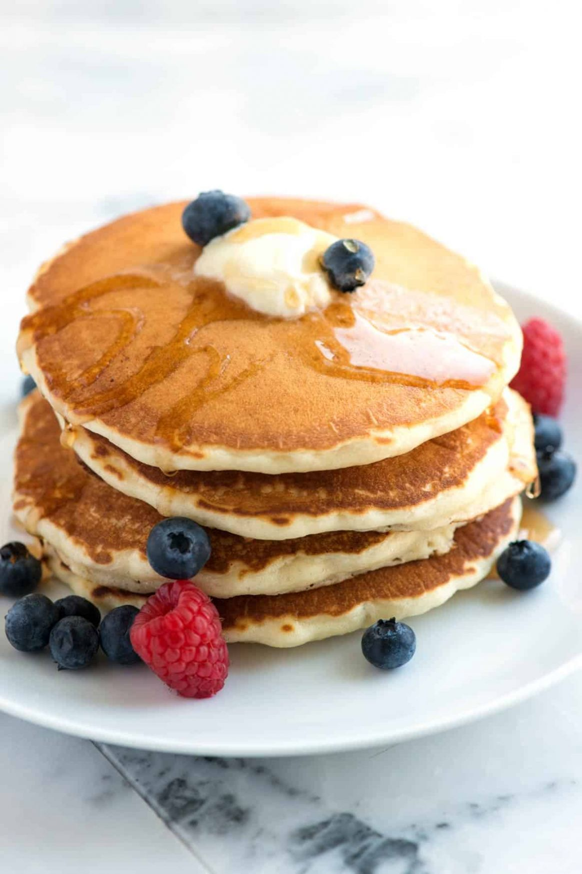 Easy Fluffy Pancakes from Scratch - Simple Recipes Pancakes