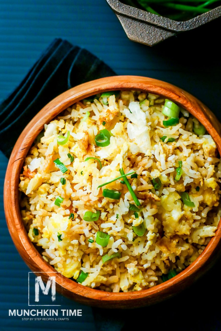 Easy Fried Rice Recipe with Green Onion - Recipes Rice With Onion