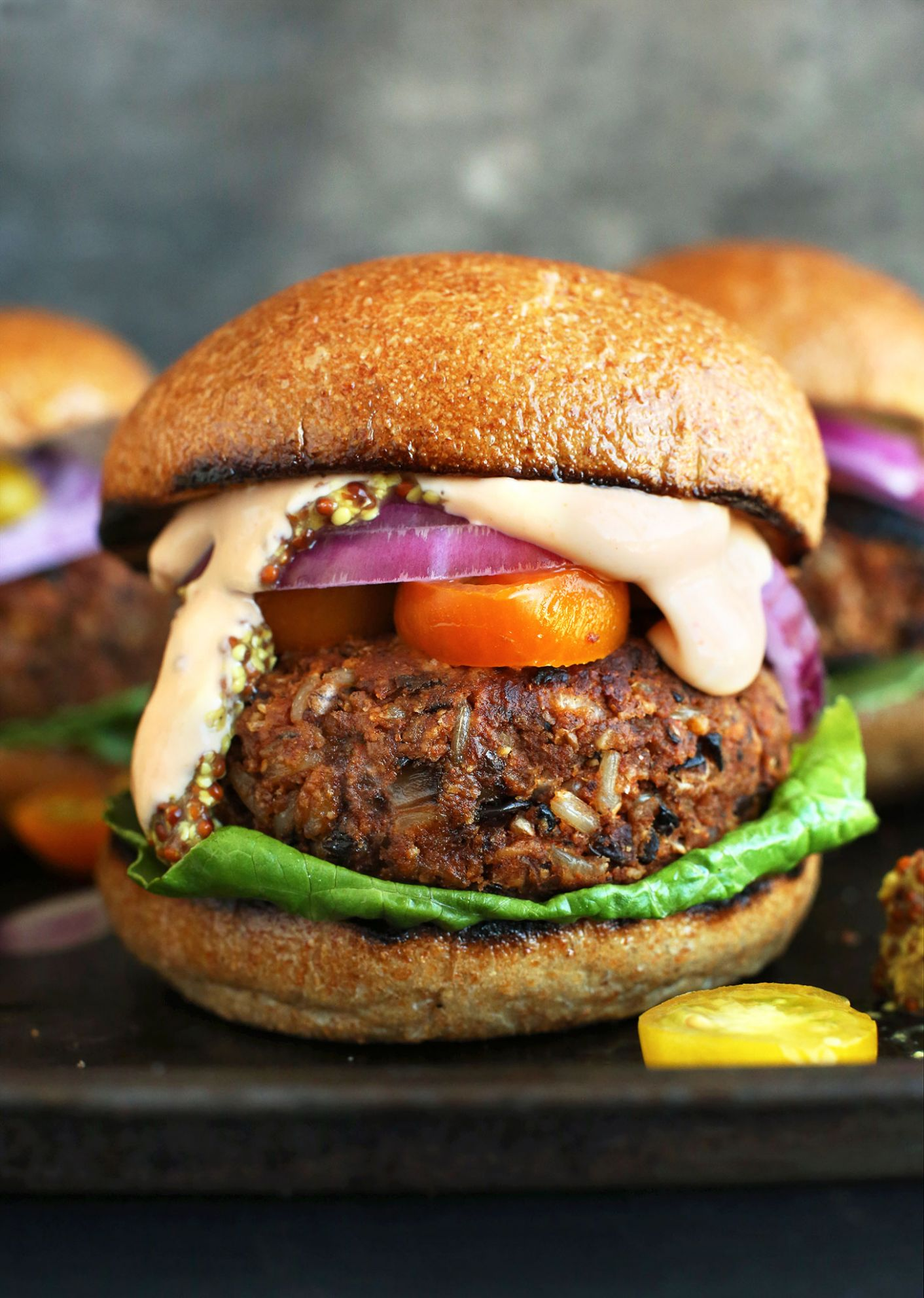 Easy Grillable Veggie Burgers - Recipes Vegetarian Patties