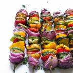 Easy Grilled Veggie Skewers – The Forked Spoon – Recipe Vegetarian Kebabs