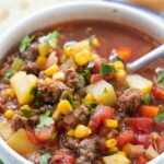 Easy Hamburger Soup Recipe (Ground Beef And Vegetable Soup!) – Soup Recipes Using Ground Beef
