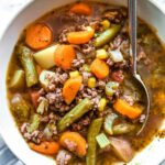 Easy Hamburger Vegetable Soup – Soup Recipes Using Ground Beef