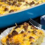 Easy Hash Brown Casserole (eggs, Sausage, & Cheese) – Crazy For Crust – Recipe Egg Hash Brown Sausage Casserole