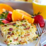Easy Hashbrown Breakfast Casserole – Breakfast Recipes With Bacon