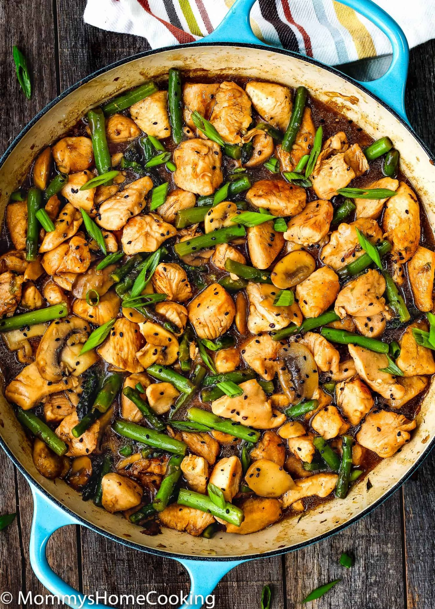 Easy Healthy Chicken and Asparagus Skillet - Recipes Chicken Quick