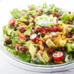 Easy Healthy Taco Salad Recipe With Ground Beef – Salad Recipes No Meat