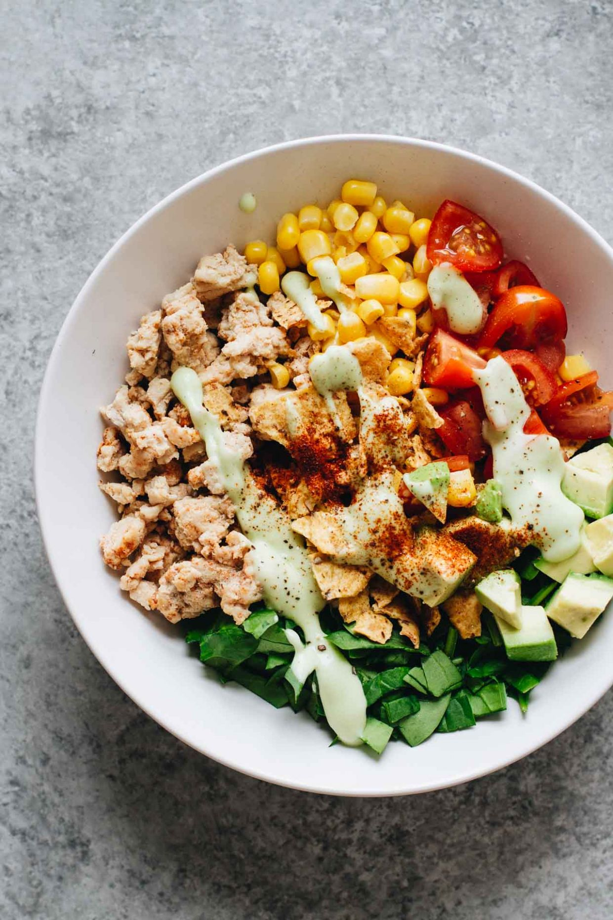 Easy Healthy Taco Salad w/ Ground Turkey - Healthy Recipes Ground Turkey