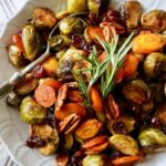 Easy Holiday Roasted Vegetables With Pecans And Cranberries – Vegetable Recipes Thanksgiving
