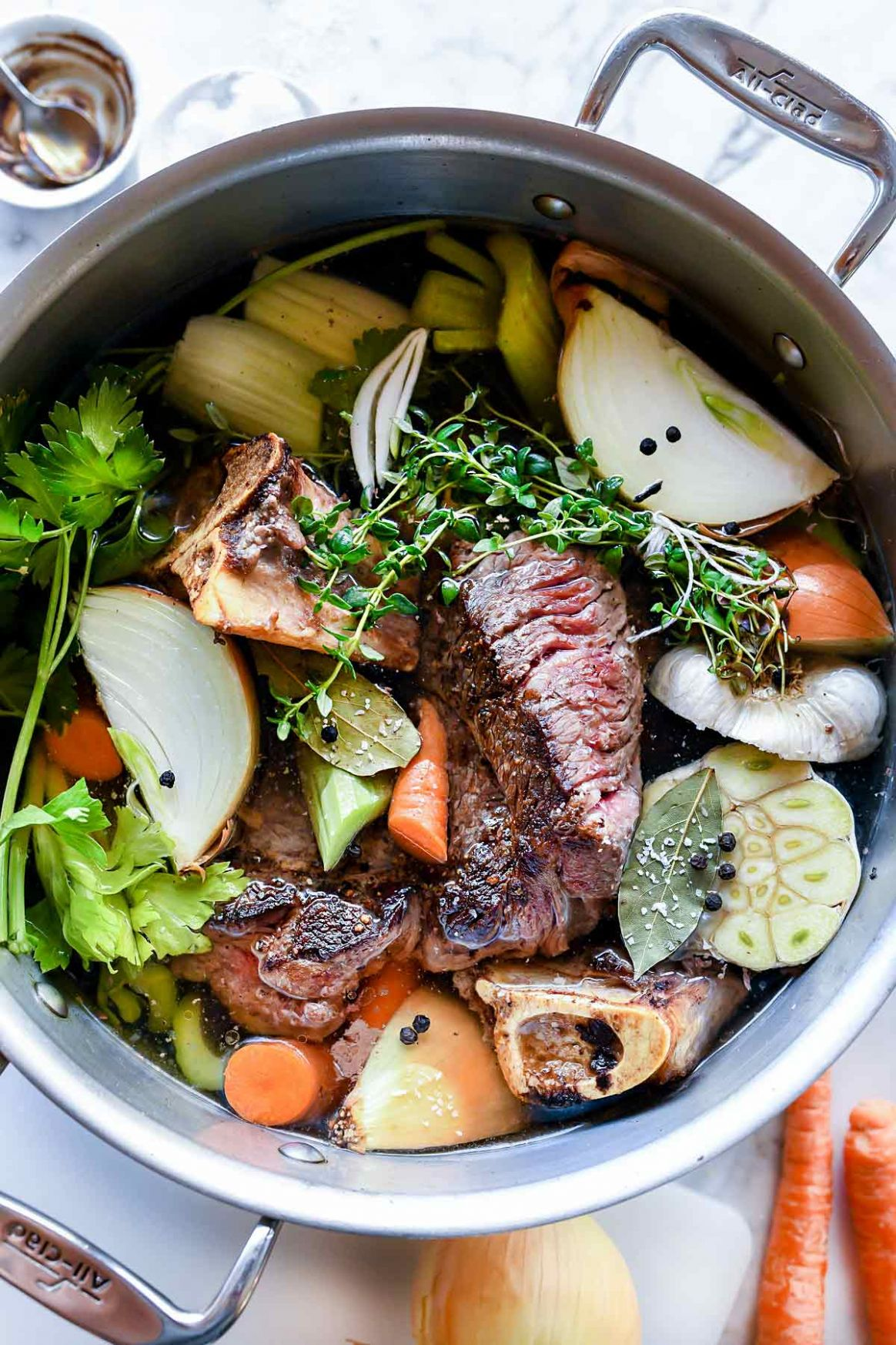 Easy Homemade Beef Broth Stock - Recipes With Beef Broth