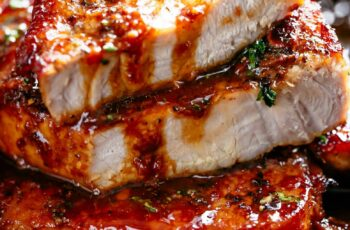 Easy Honey Garlic Pork Chops - Cafe Delites