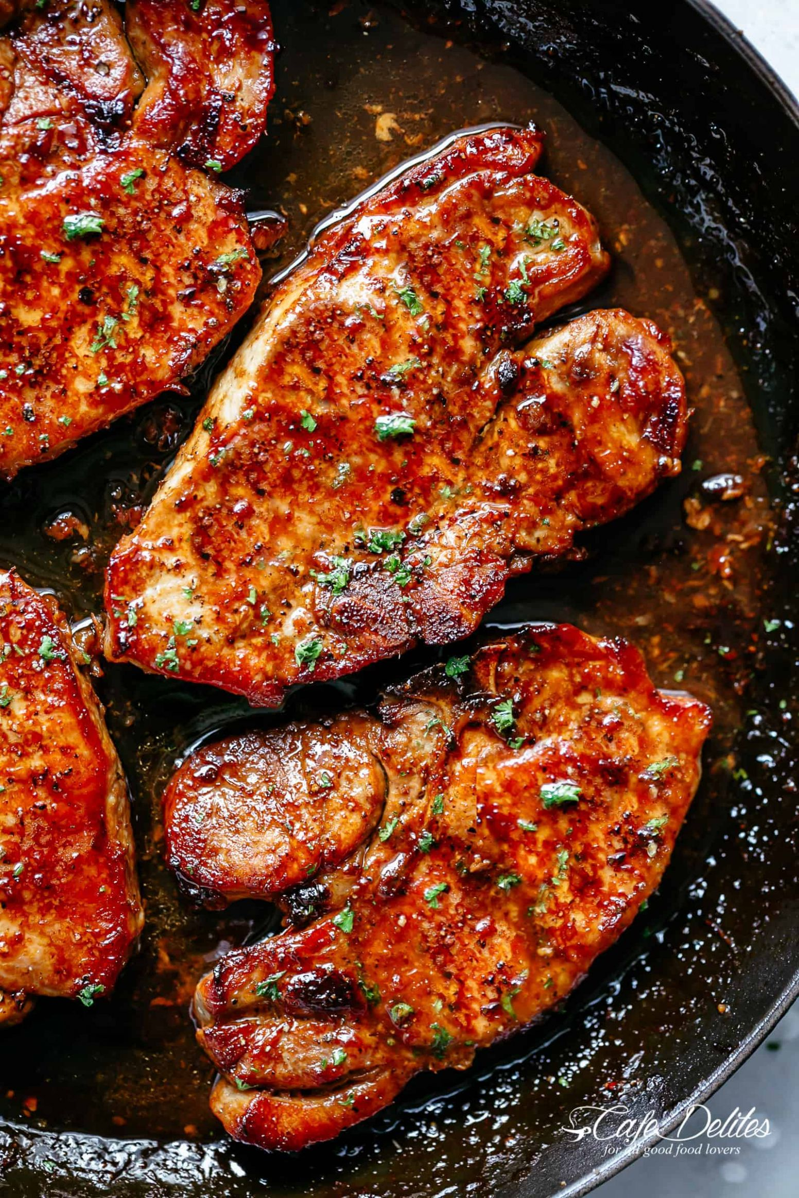 Easy Honey Garlic Pork Chops Recipe - Recipes Pork Chops Easy