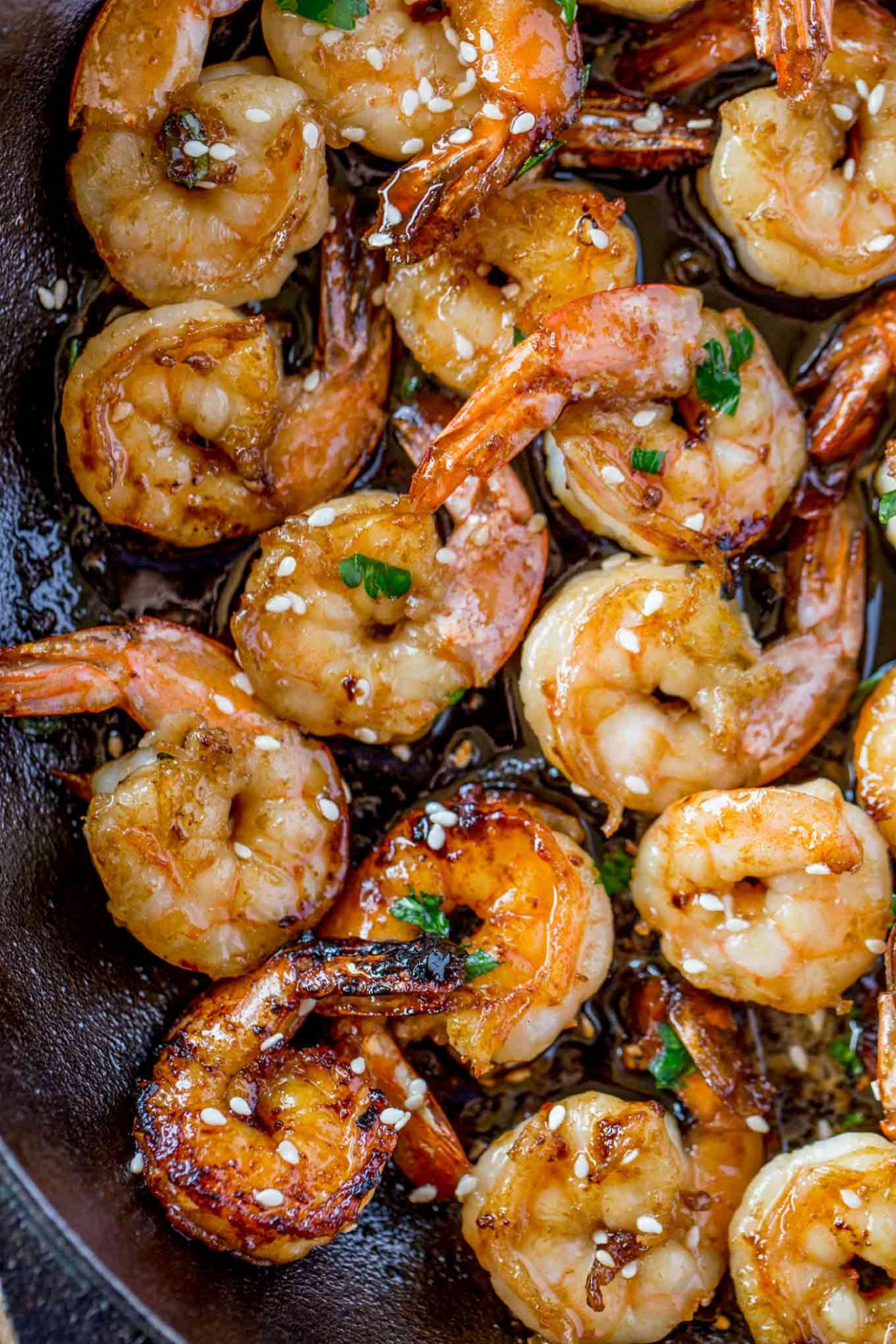 Easy Honey Garlic Shrimp - Simple Recipes With Shrimp