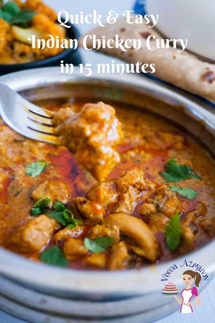 Easy Indian Chicken Curry in 11 Minutes - Recipes Chicken Curry
