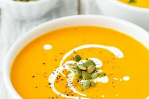 Easy Instant Pot Pumpkin Soup