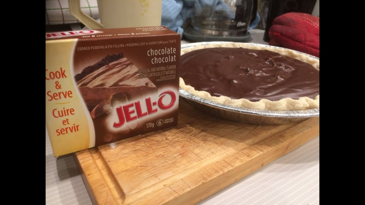 Easy Jell-O Cooked Chocolate Pudding Pie Directions - Recipes Using Chocolate Jello Pudding