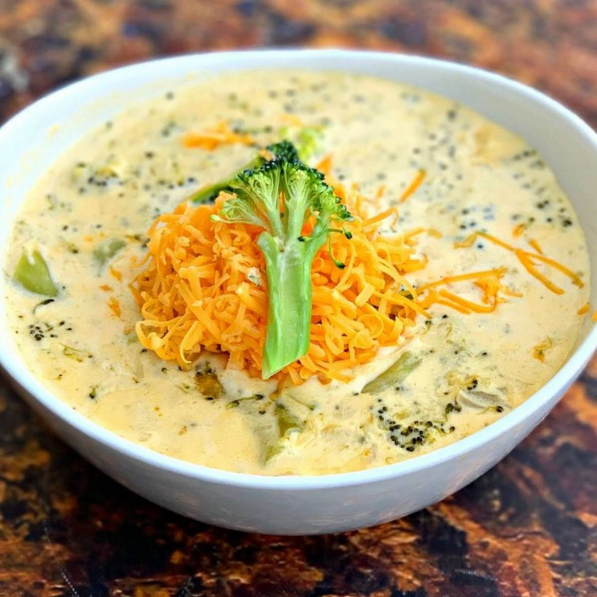Easy Keto Low-Carb Instant Pot Panera Broccoli Cheddar Cheese Soup - Soup Recipes Yummly