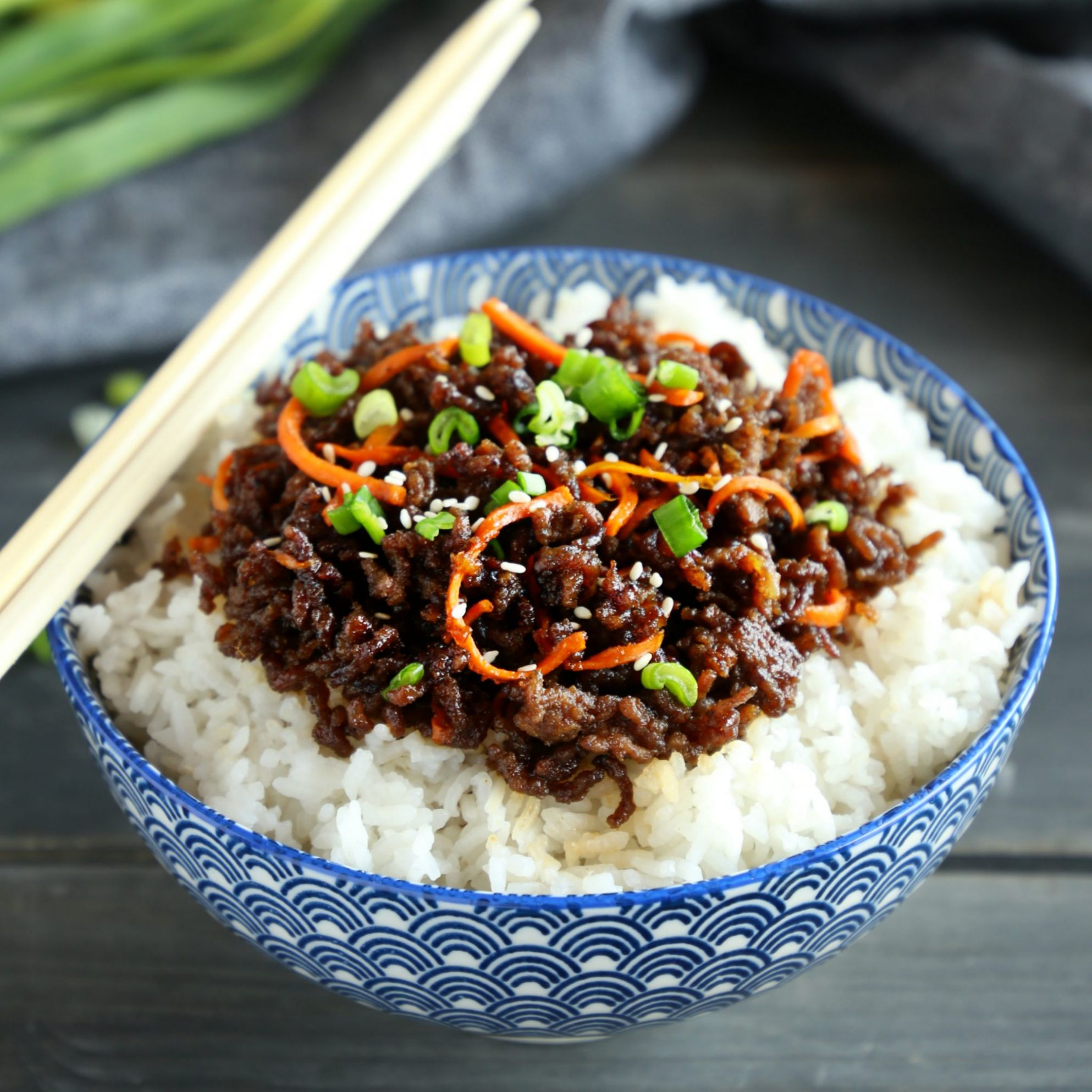 Easy Korean Beef Rice Bowls - Recipes Rice Beef Bowl