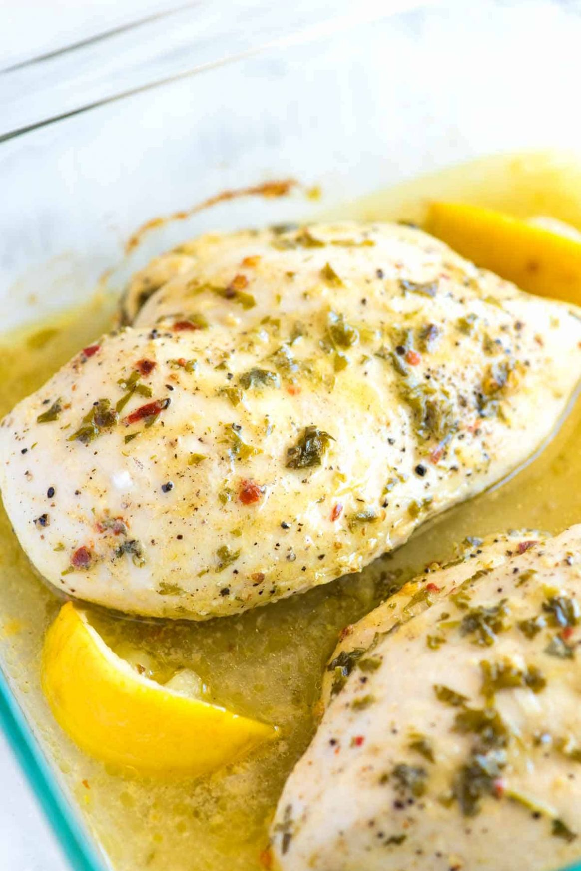 Easy Lemon Garlic Baked Chicken Breast Recipe - Recipe Chicken Breast Lemon