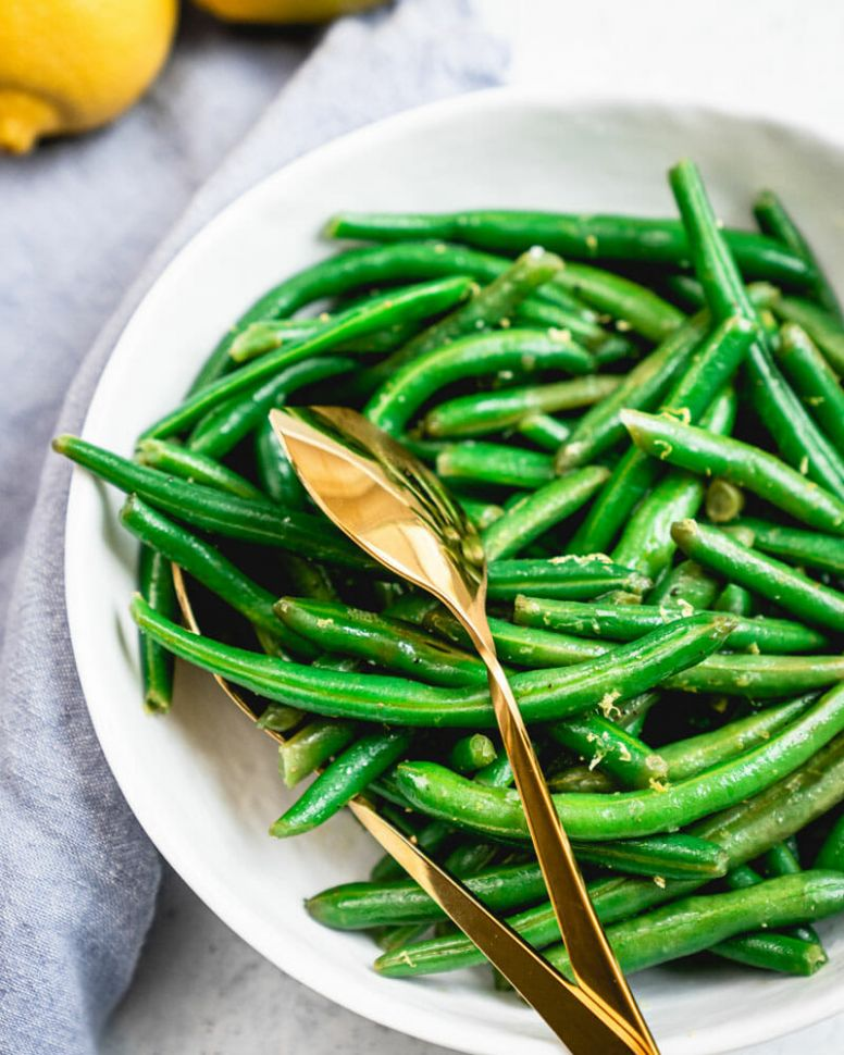 Easy Lemon Green Beans