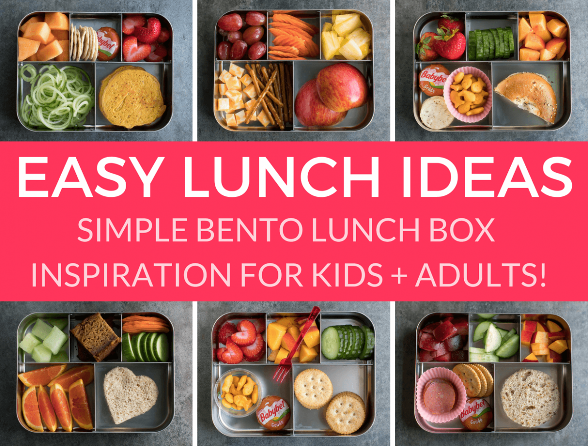 Easy Lunch Ideas for Kindergarten - Peas And Crayons - Simple Recipes Lunch Ideas