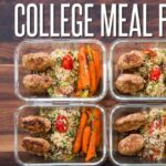 Easy Meal Prep For College Students – Healthy Meal Prep For The Week – Easy Recipes College Students
