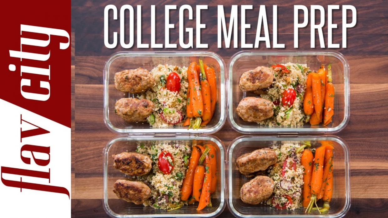 Easy Meal Prep For College Students – Healthy Meal Prep For The Week - Healthy Recipes College Students