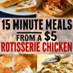 Easy Meals Using A Rotisserie Chicken – The Busy Budgeter – Easy Recipes Using Rotisserie Chicken