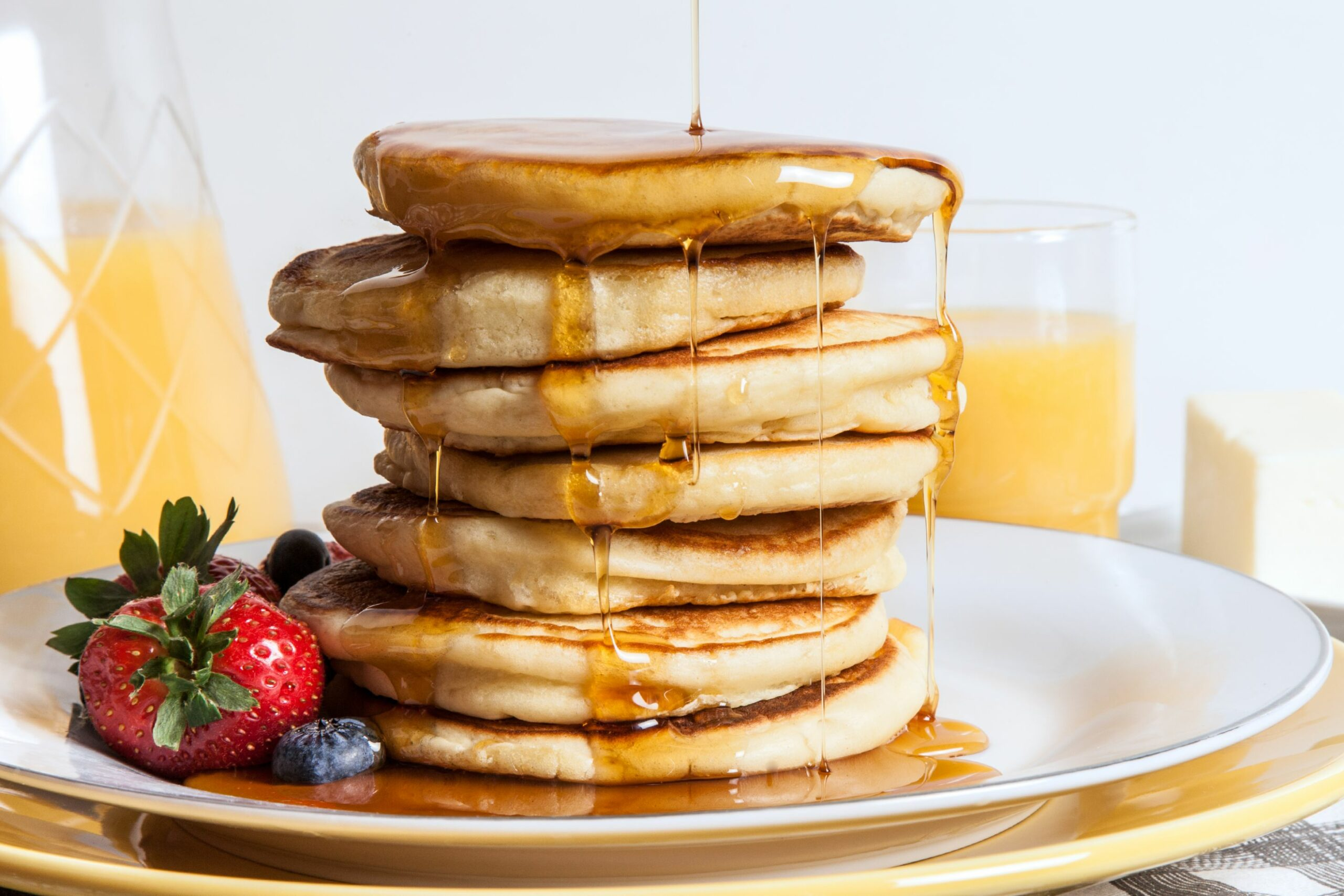 Easy Olive Oil Pancakes - Simple Recipes Pancakes