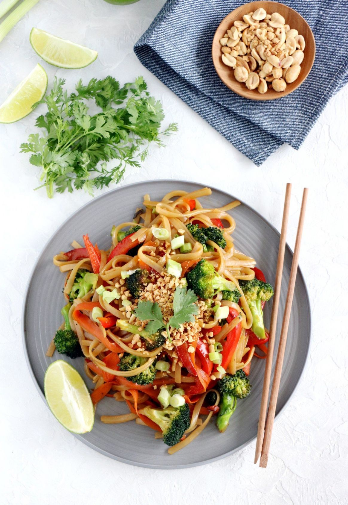 Easy Pad Thai (vegan, gluten-free) - Recipes Vegetarian And Gluten Free
